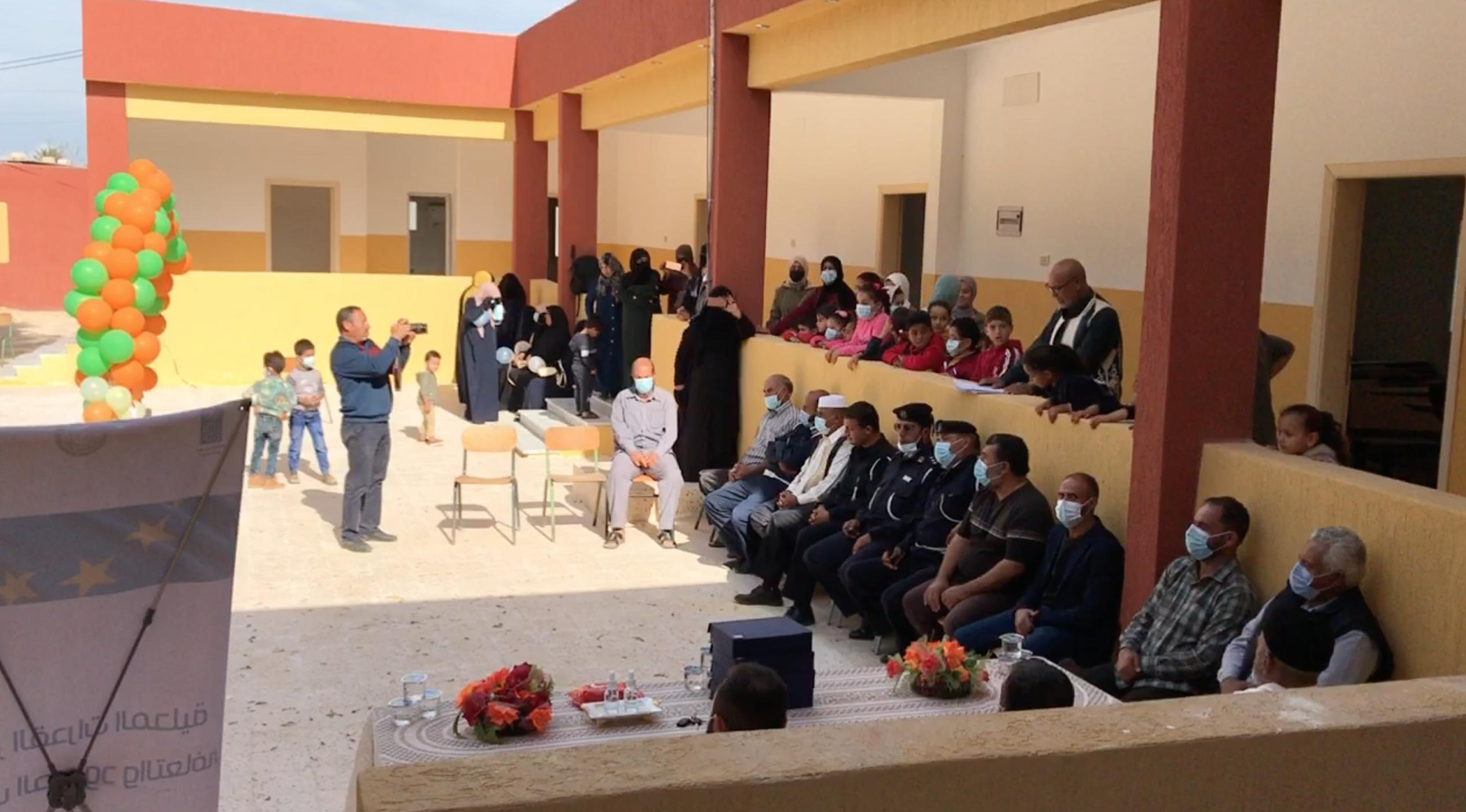 برنامج الأمم المتحدة الإنمائي يُنهي صيانة مدرستين في صبراتة