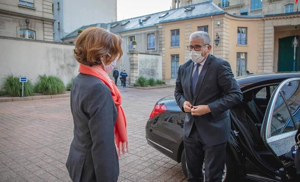 باشاغا يبحث وزيرة الجيوش الفرنسية سبل التعاون المشترك