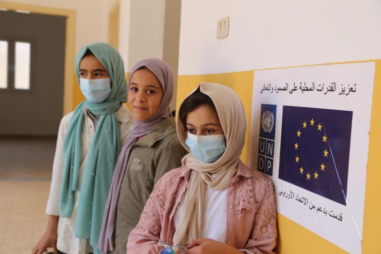 البعثة الأوروبية في ليبيا تُنهي صيانة مدرستين في صبراتة