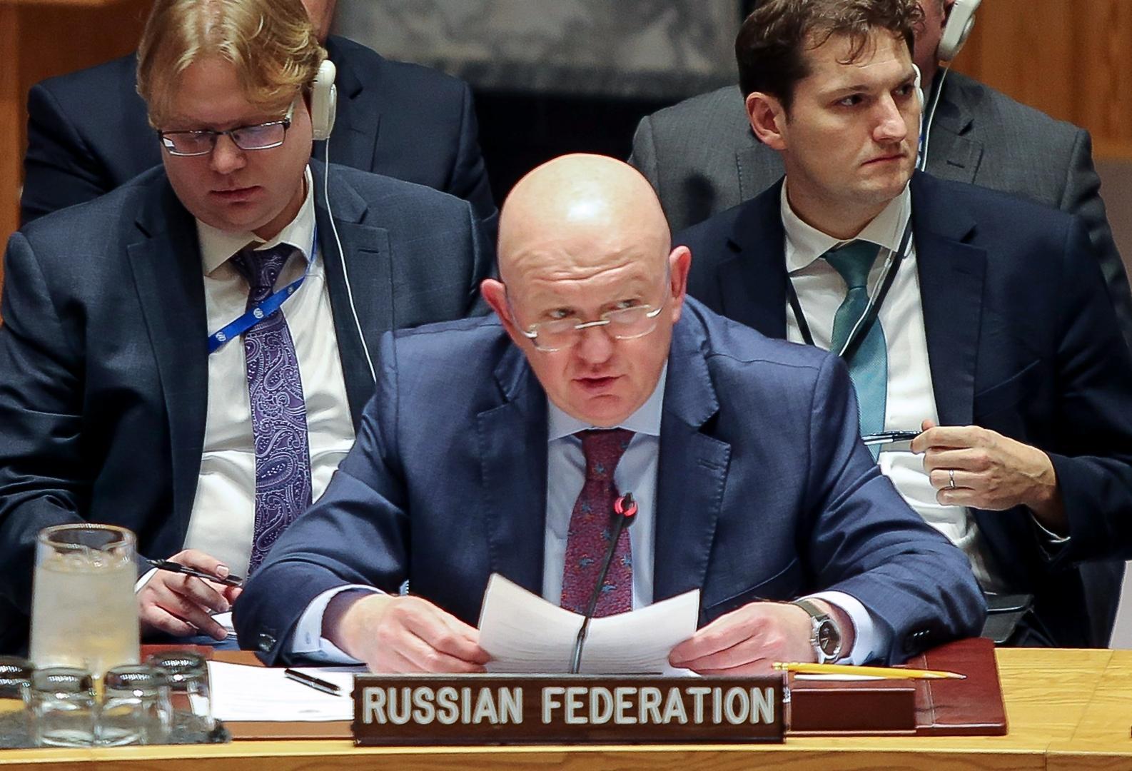 روسيا تمنع إدارج مجموعة مسلحة ليبية على القائمة السوداء للأمم المتحدة