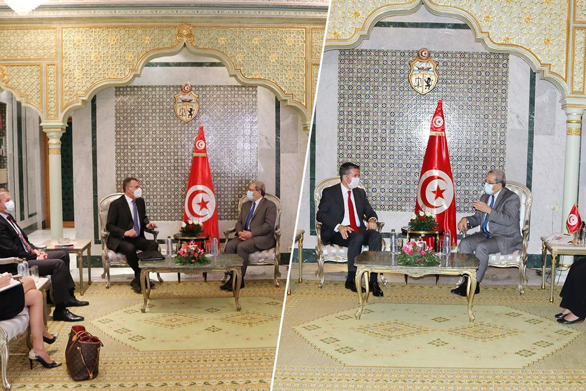 الخارجية التونسية تبحث تطورات الملف الليبي مع سفيريْ تركيا وألمانيا