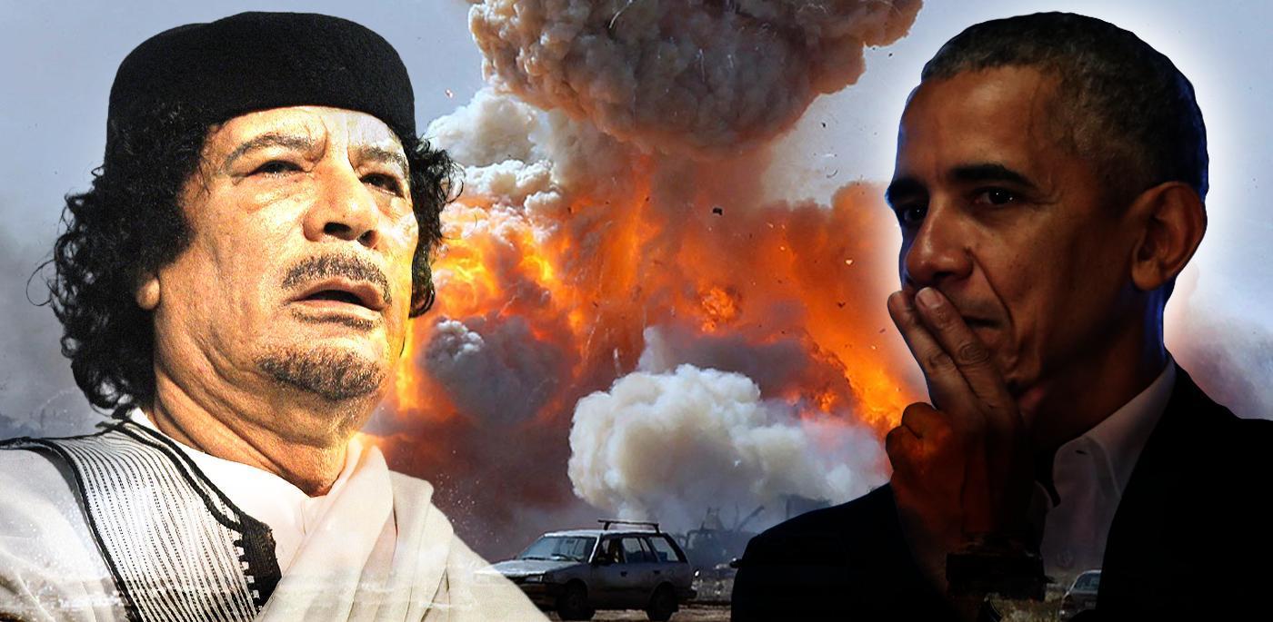 أوباما يسرد في كتابه التدخل العسكري في ليبيا.. ورأيه بالقذافي