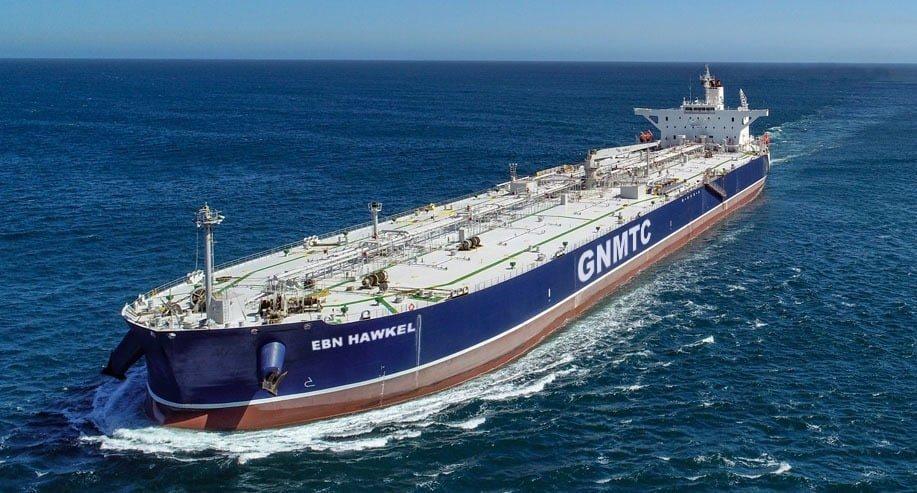 ناقلة نفط حديثة تنضم لأسطول شركة النقل البحري