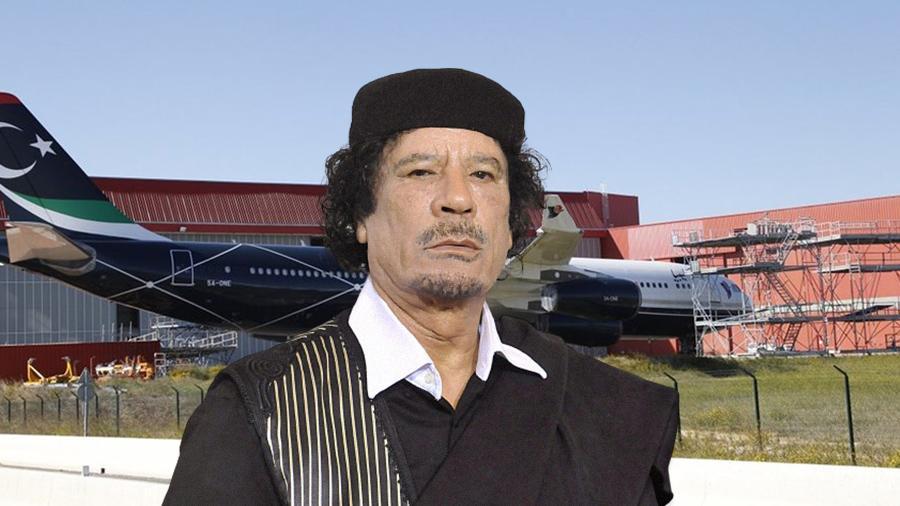 سي إن إن: ماذا تفعل طائرة القذافي في فرنسا؟