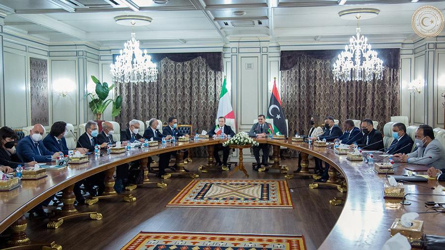 ليبيا وإيطاليا نحو اتفاقية شراكة ثنائية