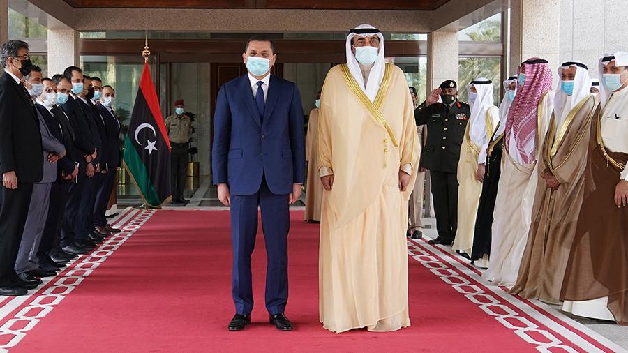 الدبيبة يصل الكويت ويلتقي رئيس مجلس الوزراء