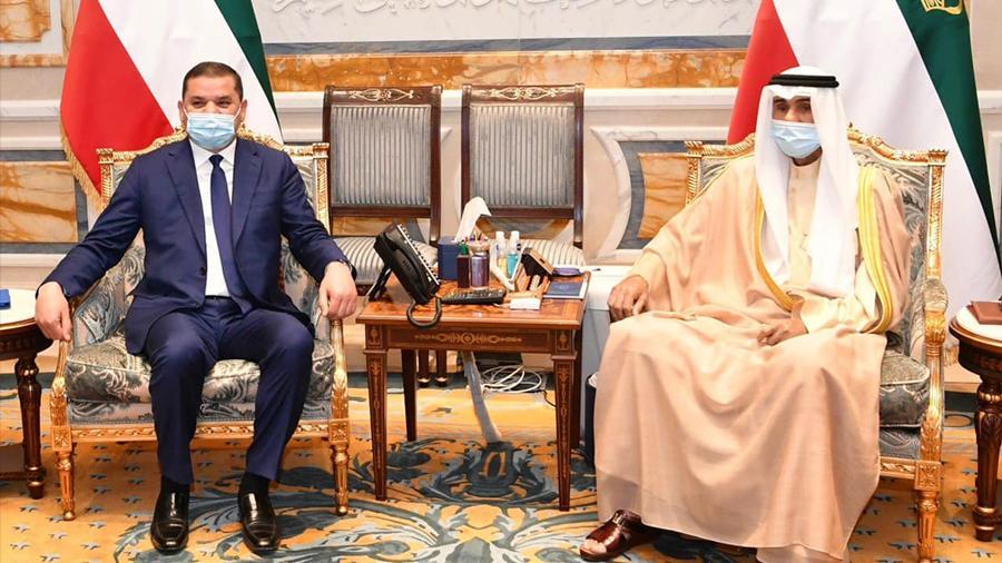 الدبيبة يبحث مع أمير الكويت سبل تعزيز العلاقات بين البلدين