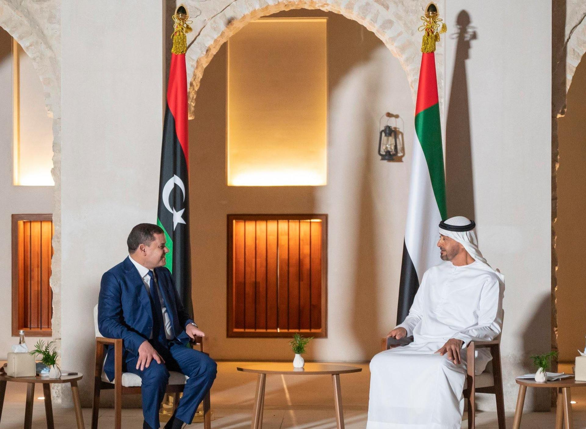 الشيخ محمد بن زايد: نقف إلى جانب الأشقاء الليبيين في هذه المرحلة المفصلية