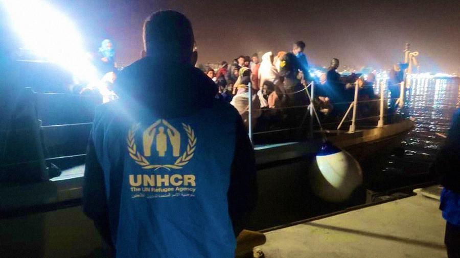 مفوضية اللاجئين: 700 مهاجر أعيدوا إلى ليبيا الأيام الأخيرة