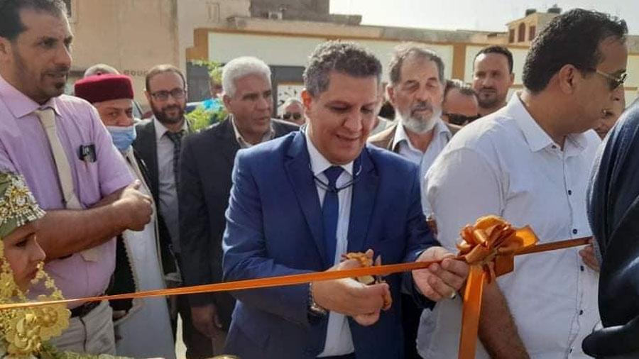 وزارة التعليم تفتتح مدرستين بدرنة