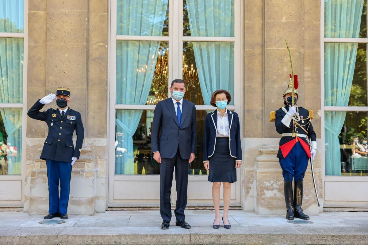ملفات أمنية وعسكرية على طاولة الدبيبة ووزيرة الجيوش الفرنسية
