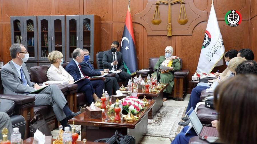 البوسيفي: حكومتنا تعمل على محاربة الإفلات من العقاب وإنجاح الاستحقاق الانتخابي المقبل