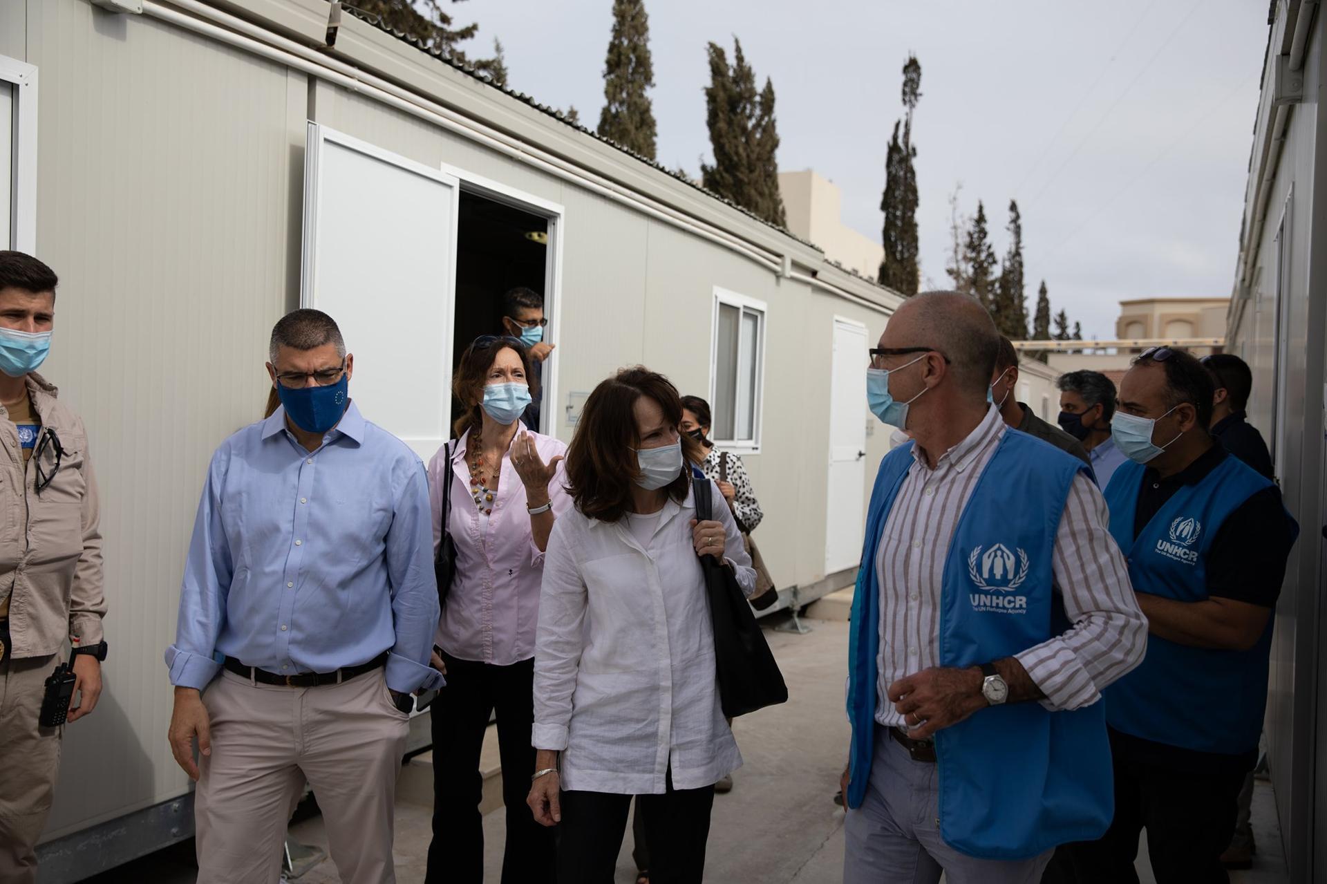 بعثة الاتحاد الأوروبي: 217 ألف نازح في ليبيا