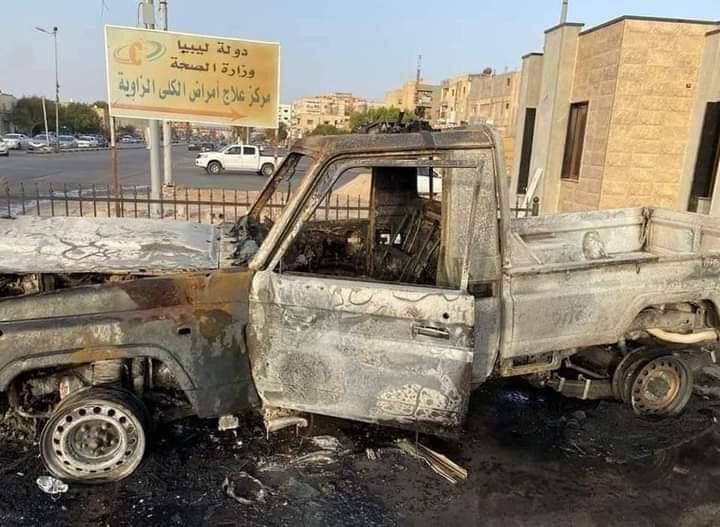 إصابات بهجوم مسلح استهدف تمركزا أمنيا بالزاوية