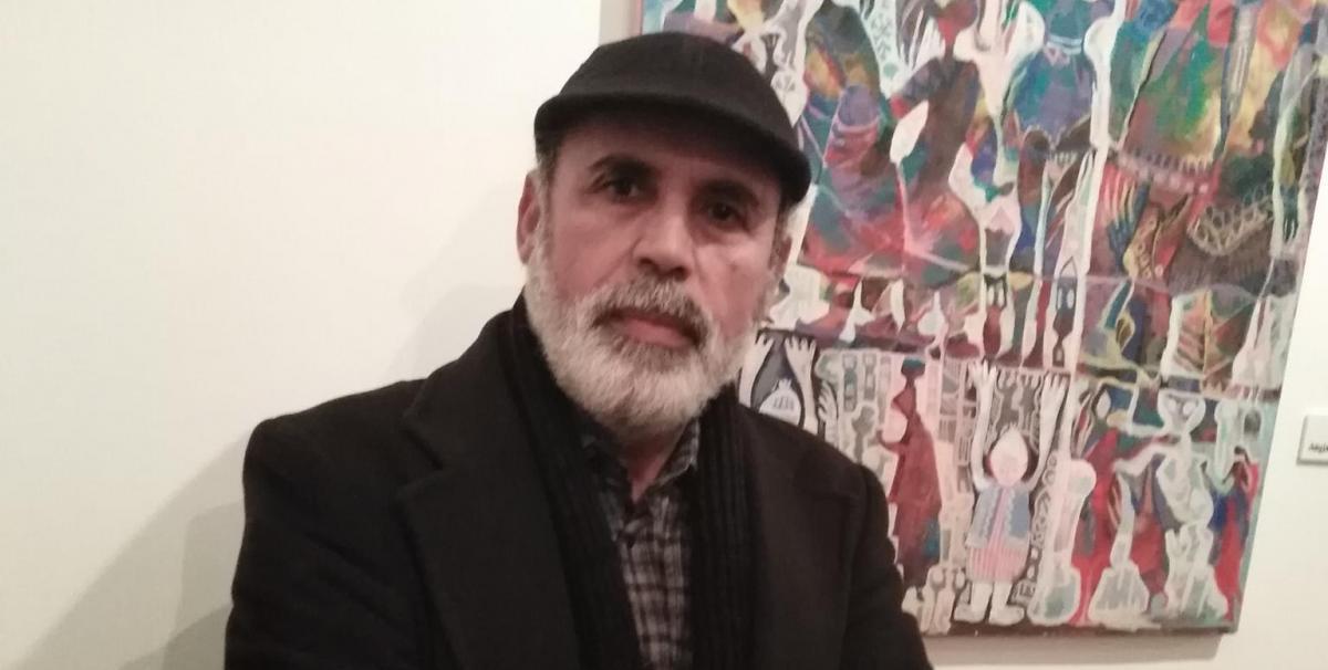 """رمضان نصر أبوراس لـ""""218″: الإنسان في لوحاتي هو ذلك اللغز المحير"""