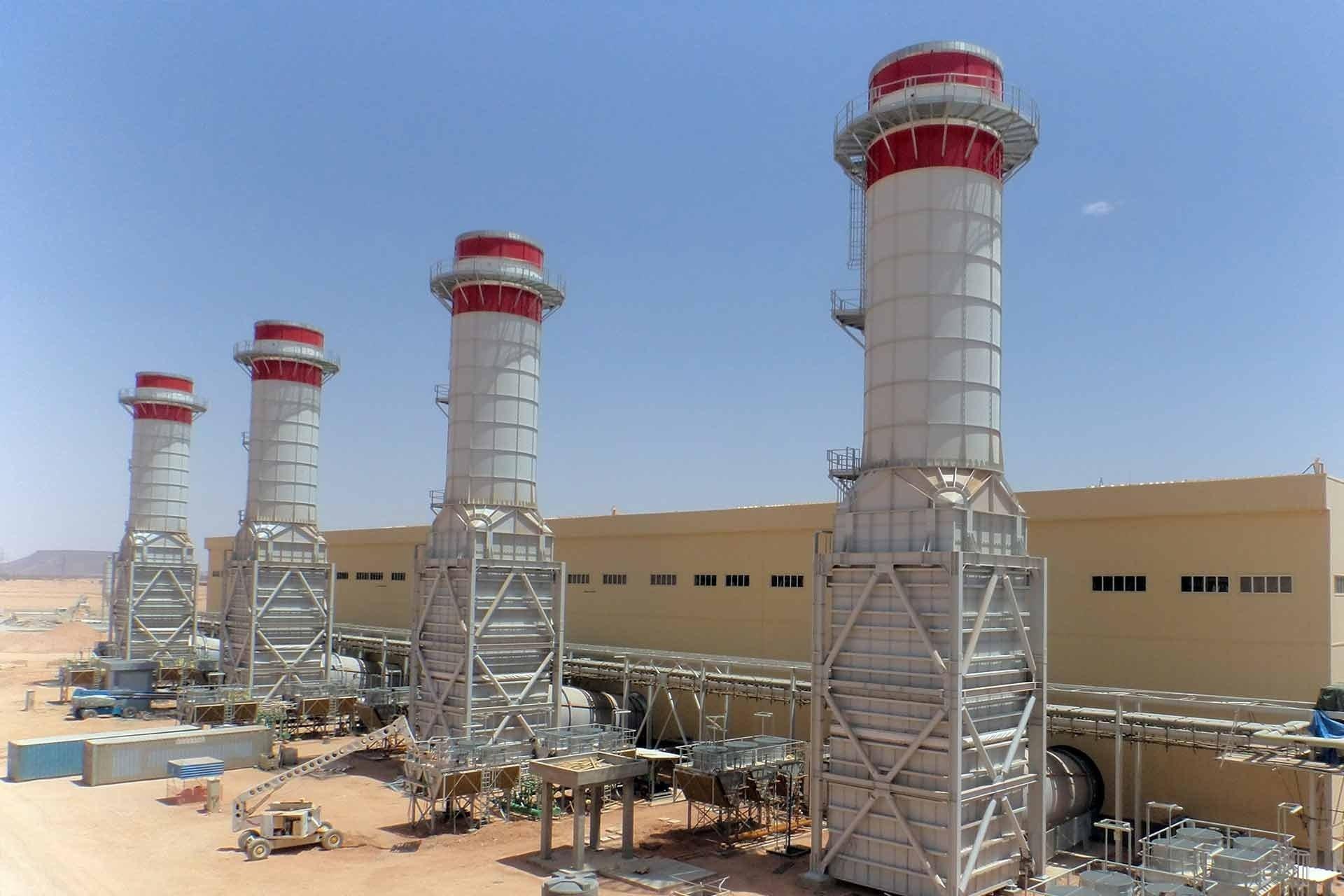 """الكهرباء تعلن وصول """"توربينة"""" خاصة بمشروع محطة غرب طرابلس"""