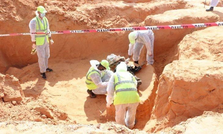 اكتشاف 5 مقابر جماعية جديدة في ترهونة الليبية
