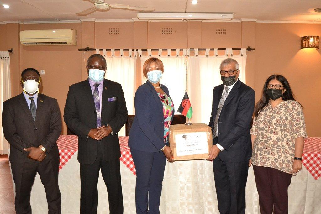 Malawi Hindu Association UK boosts Covid-19 fight as positivity rate gets down to 1.8%