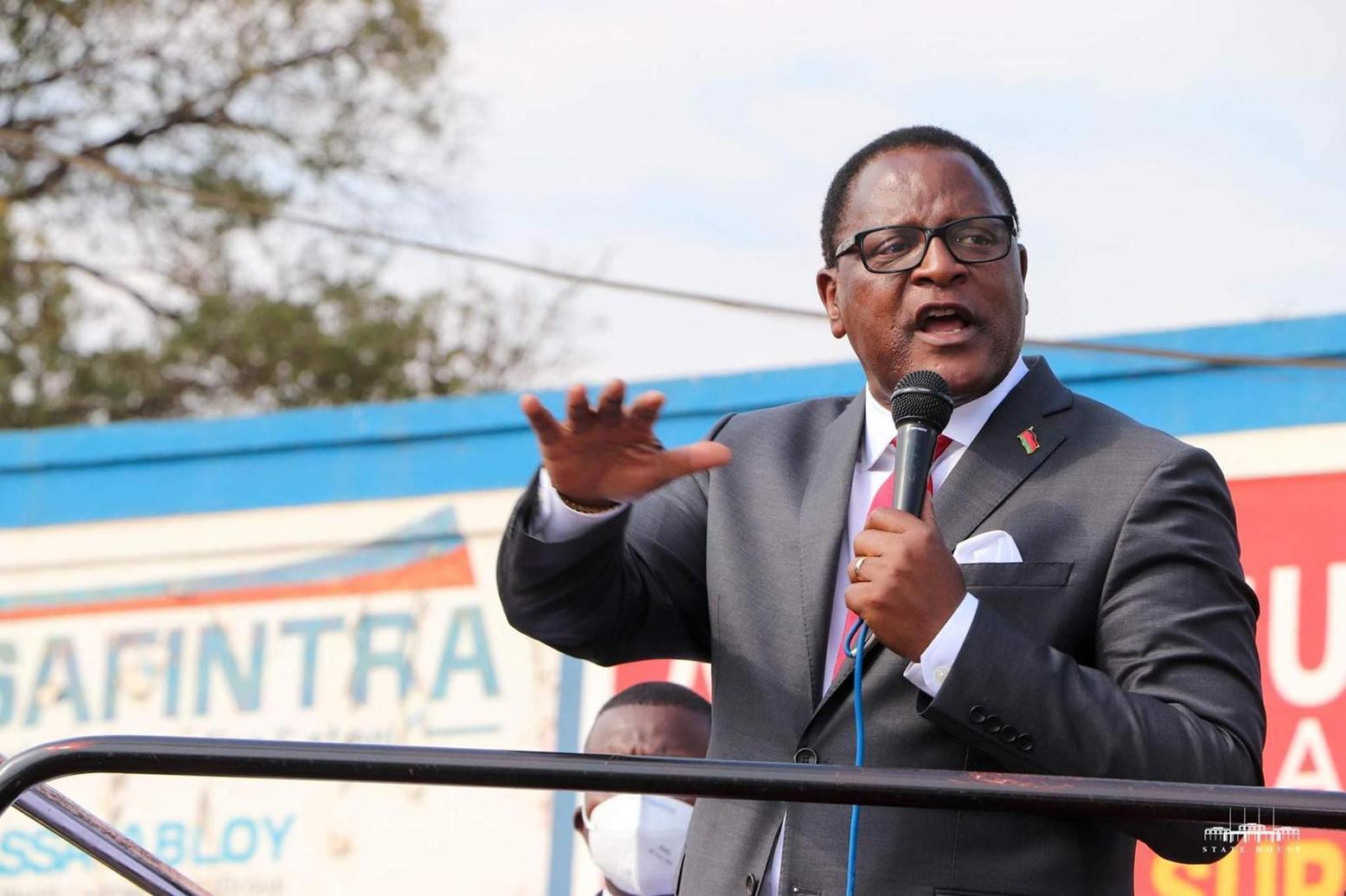 Chakwera establishes unit to track delivery of Tonse Alliance promises