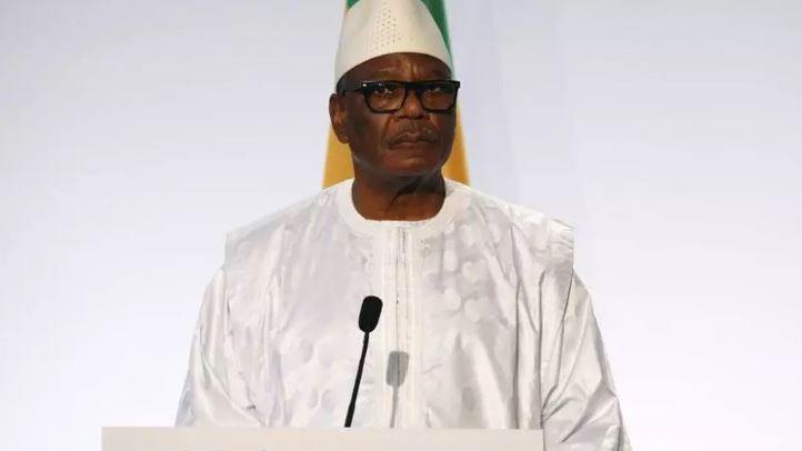Le président malien, Ibrahim Boubacar Keïta