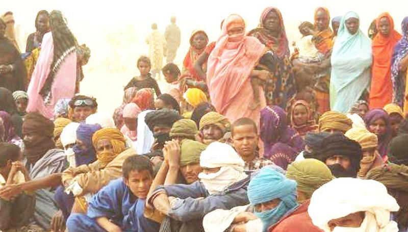 Mopti : Le coordinateur du NTM à la rencontre des déplacés