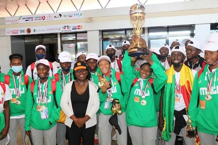 Afrobasket U16 filles: Aliou Boubacar Diallo offre 4 millions de FCFA aux championnes d'Afrique et à leur encadrement