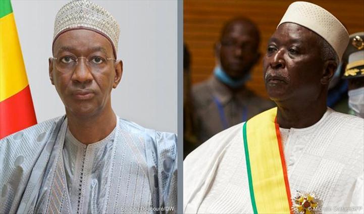 Mali: résidence surveillée levée pour l'ex-président et Premier ministre de transition (Cédéao)