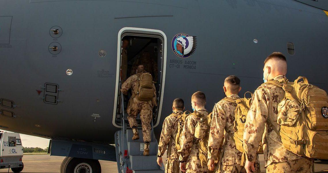 Un nouveau contingent s'envole vers le Mali