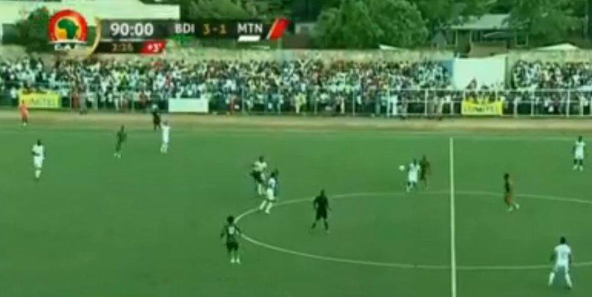 فوز لمنتخب بوروندي على حساب موريتانيا