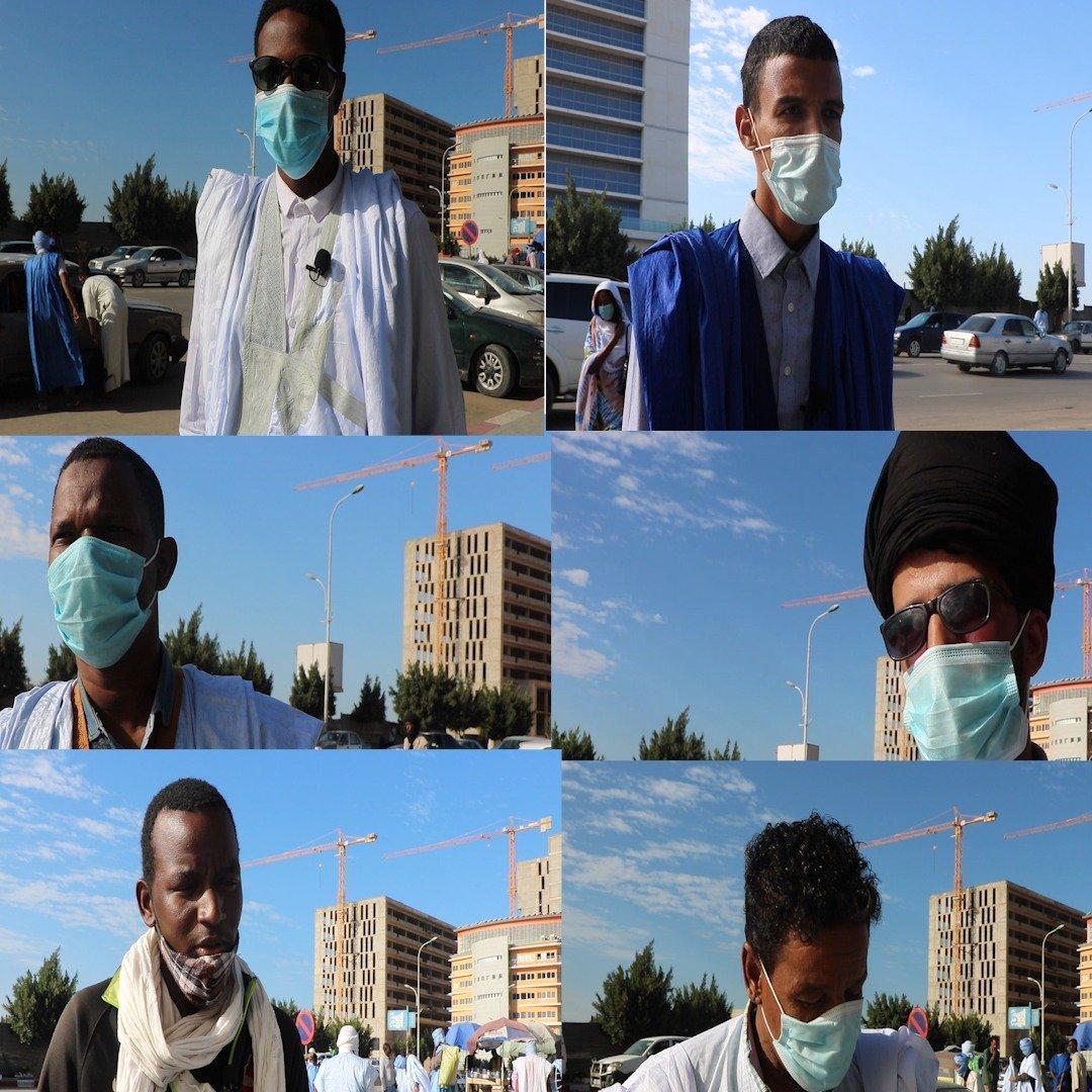 رأي عدد من سكان نواكشوط حول تخفيف الإجراءات الاحترازية (فيديو)