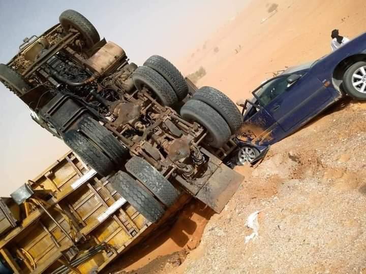 حادث سير بين نواكشوط وبوتلميت