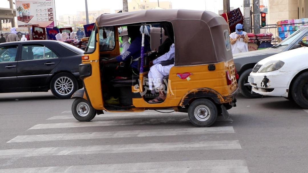 التوكتوك... وسيلة نقل تزاحم التاكسي في شوارع نواكشوط (فيديو)