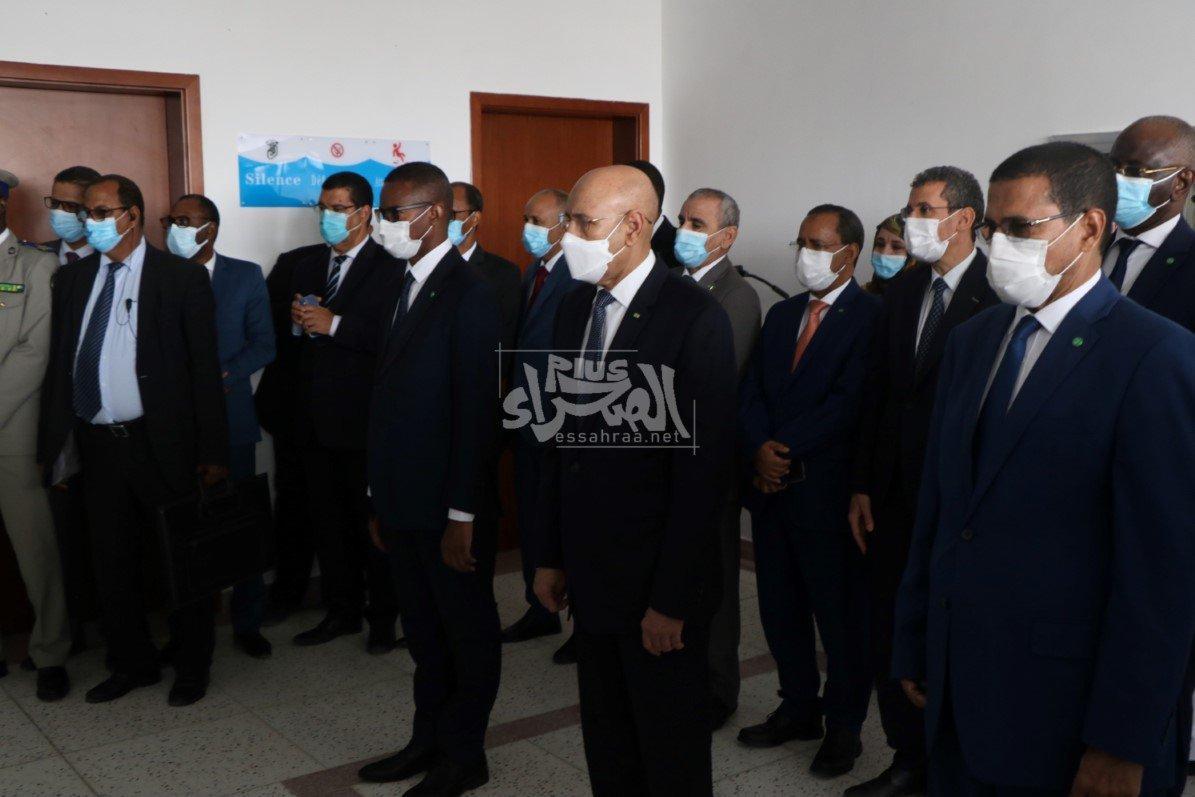 الرئيس غزواني يطلق حملة التلقيح ضد