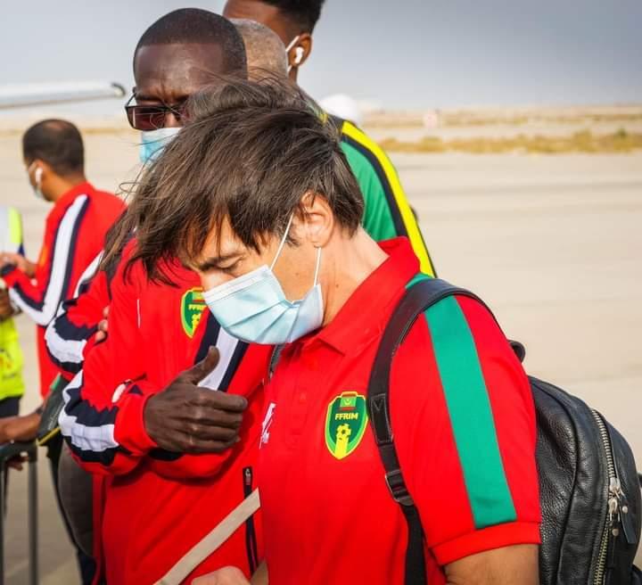 وصول منتخب المرابطون إلى وسط إفريقيا