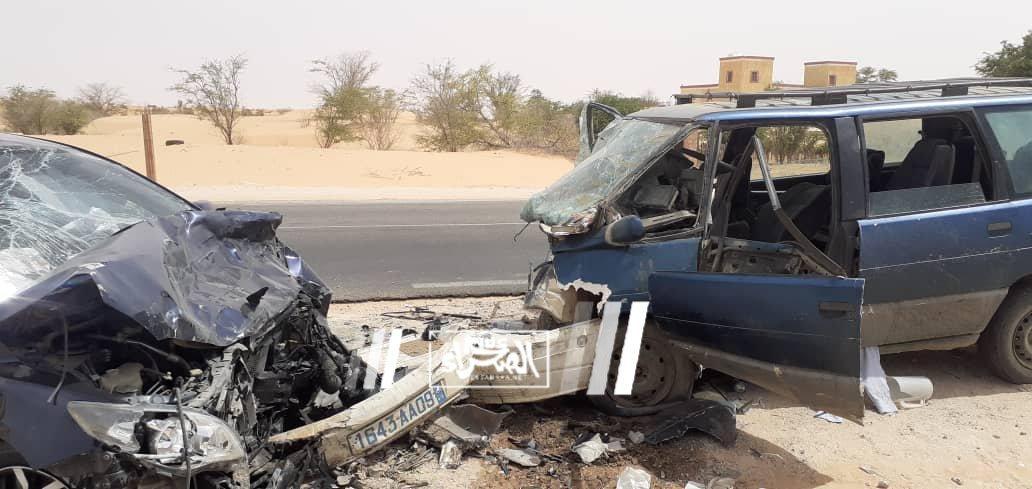 حادث سير على طريق الأمل يخلف عدة إصابات (صور)