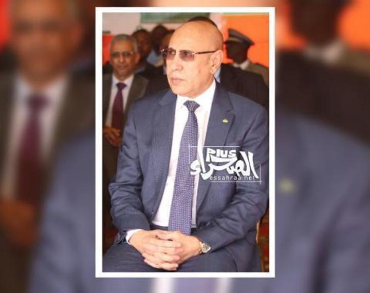 الرئيس غزواني يستقبل وفدا من التحالف من أجل الساحل