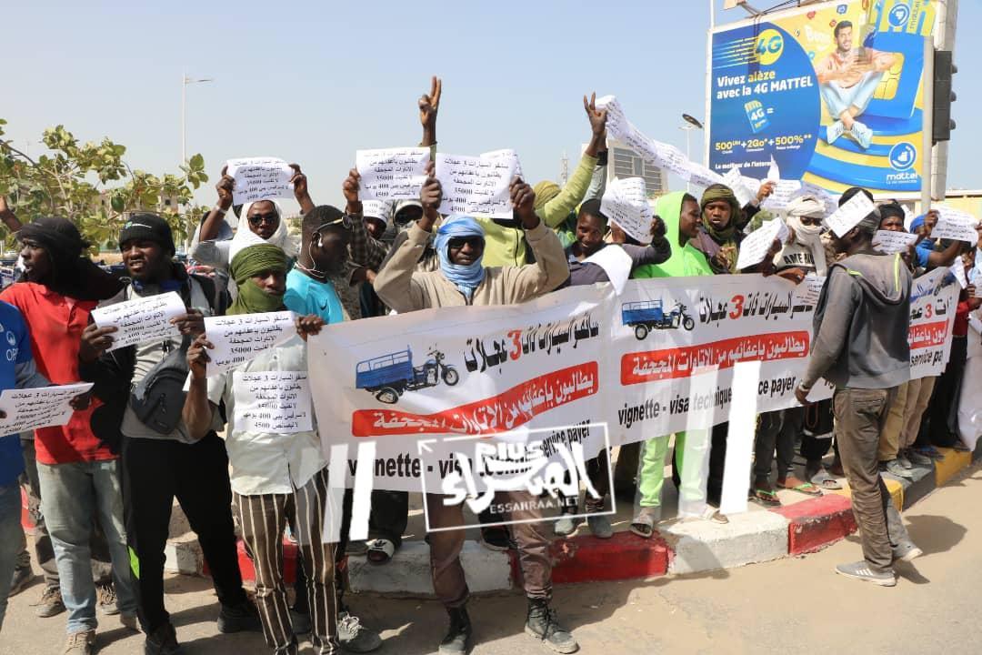 تزامنا مع اجتماع الحكومة.. وقفات احتجاجية أمام الرئاسة (صور)