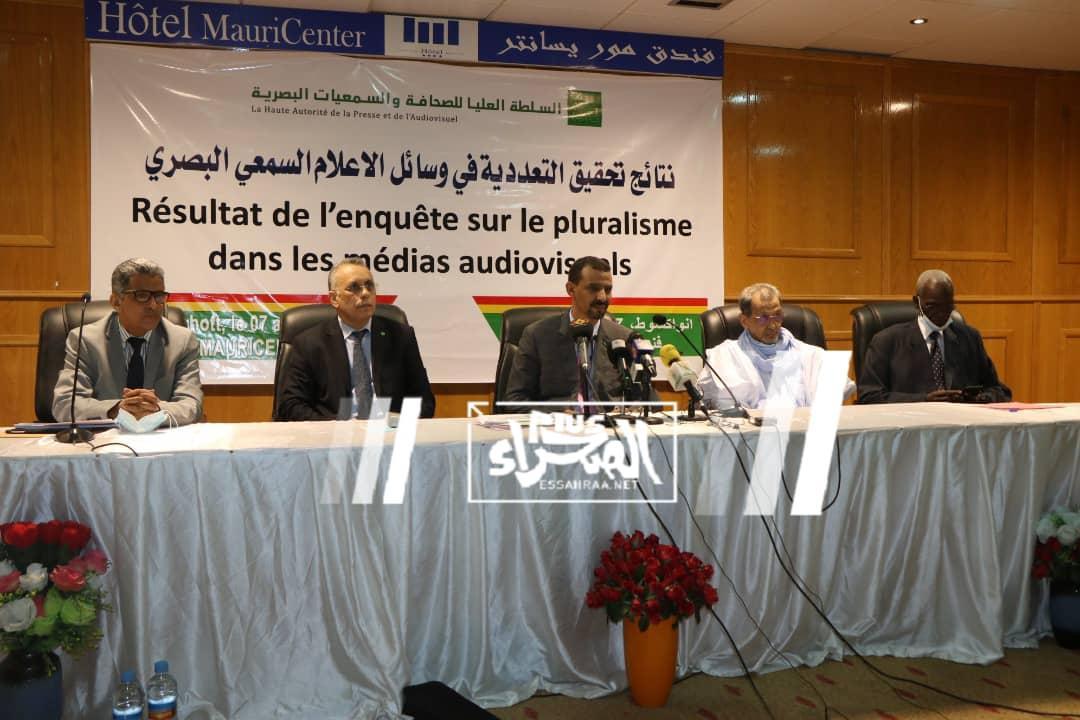 الهابا تستعرض تقريرها حول التعددية في وسائل الإعلام بموريتانيا