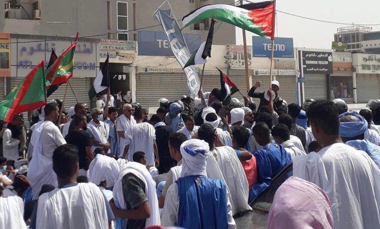 تضامن واسع من الموريتانيين مع فلسطين (فيديو)