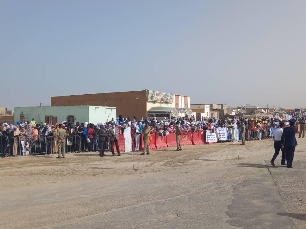 نواكشوط: استعدادات لإطلاق أشغال جسرين من طرف الرئيس غزواني (صور)