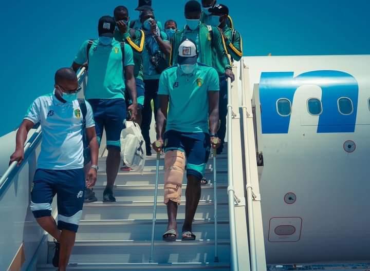 إصابة لاعبين من المنتخب الوطني بعد المباراة الودية أمام الجزائر