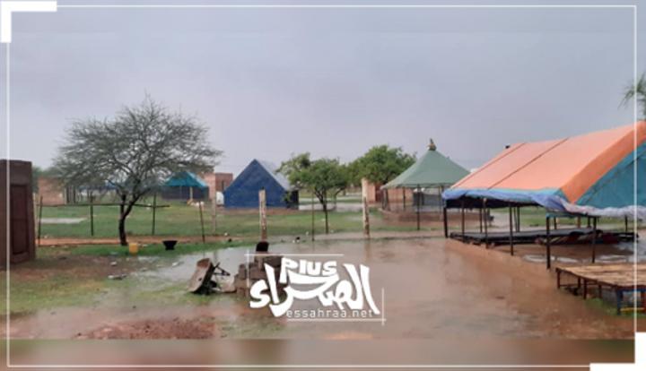 تساقطات مطرية على مناطق مختلفة من البلاد (مقاييس)