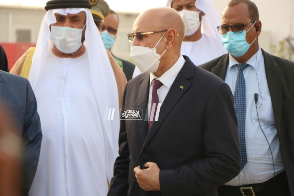 الرئيس غزواني يدشن مستشفى محمد بن زايد الميداني (صور)