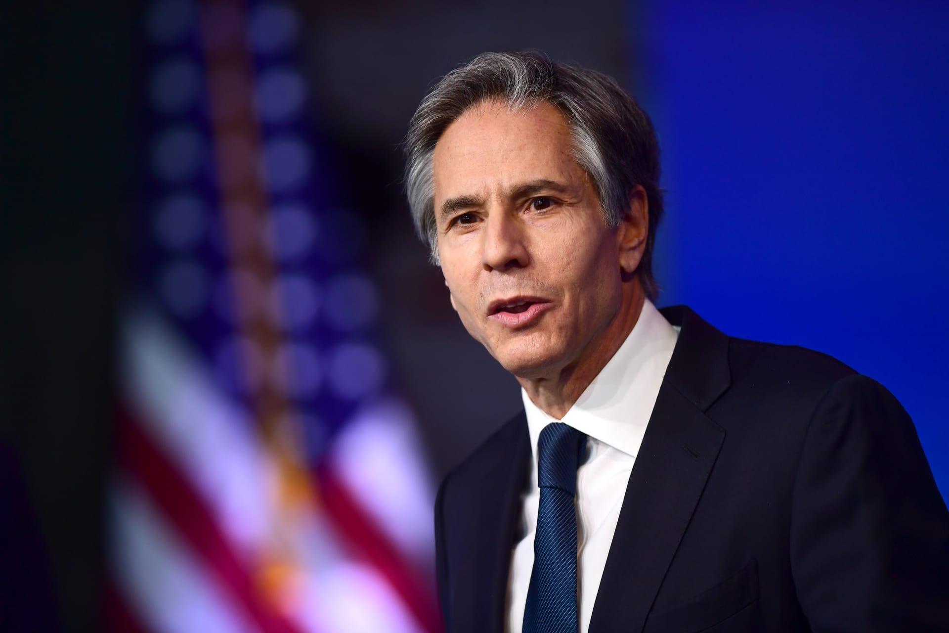 وزير الخارجية الأمريكي: سعداء بتقديم 302.4 ألف جرعة لقاح لموريتانيا