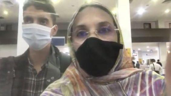 الخطوط الملكية المغربية: أميناتو حيدر منعت من الصعود على متن رحلة متجهة إلى لاس بالماس بسبب إصابتها بكوفيد-19