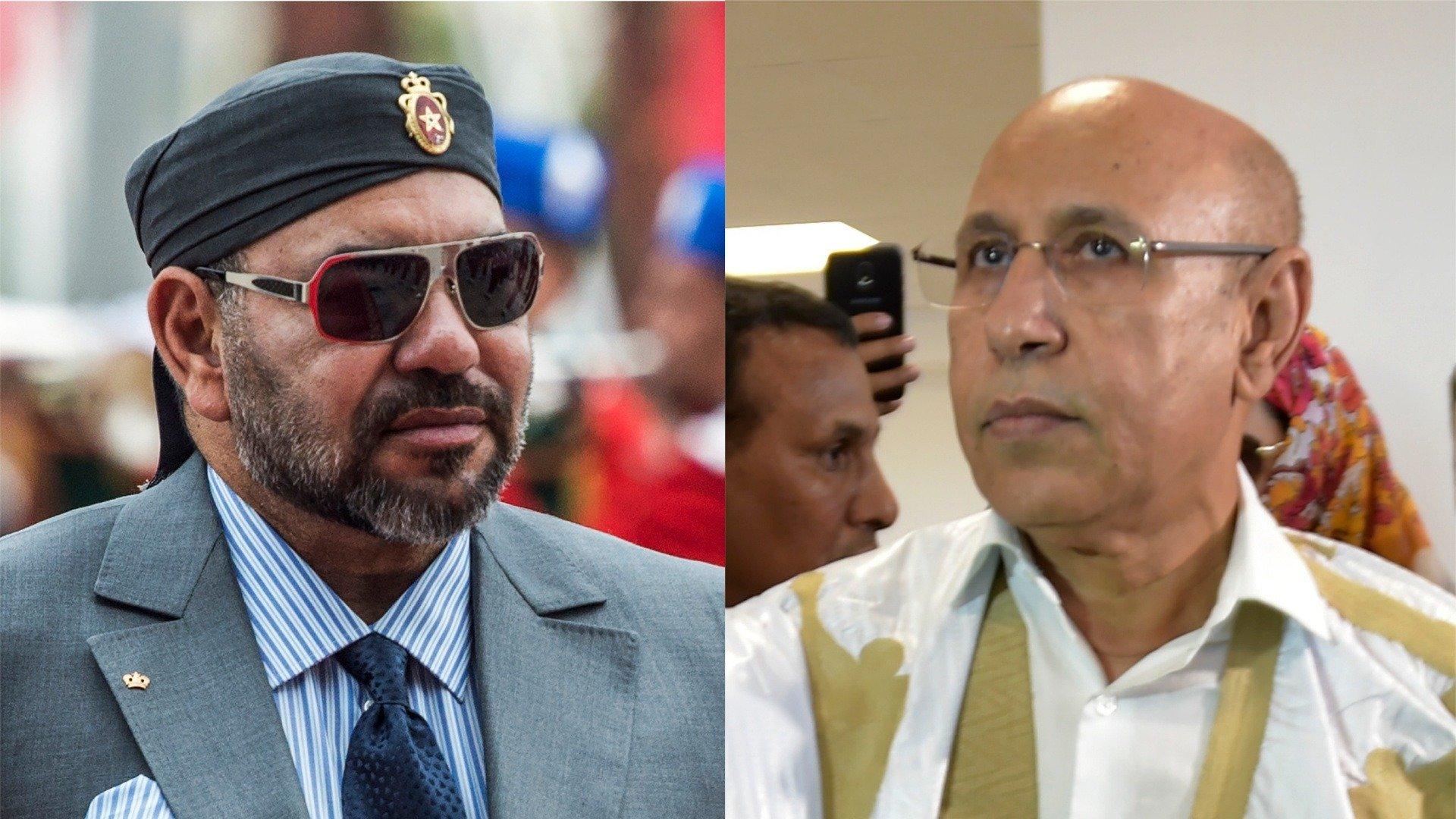 الملك محمد السادس يجري اتصالا هاتفيا مع الرئيس الموريتاني