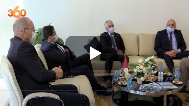 بالفيديو: لقاء تشاوري اقتصادي ليبي - مغربي بطنجة