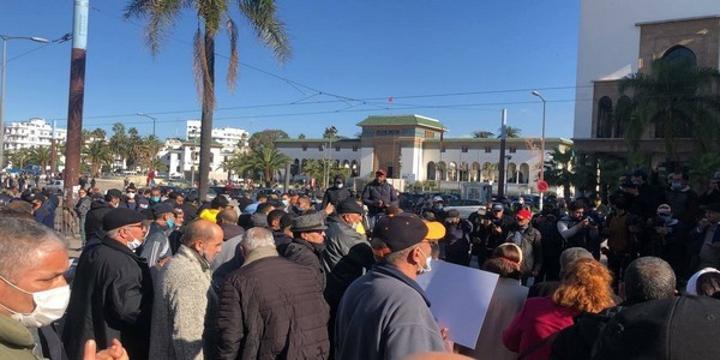 غرق الدار البيضاء …احتجاجات للمطالبة بمحاسبة المسؤولين