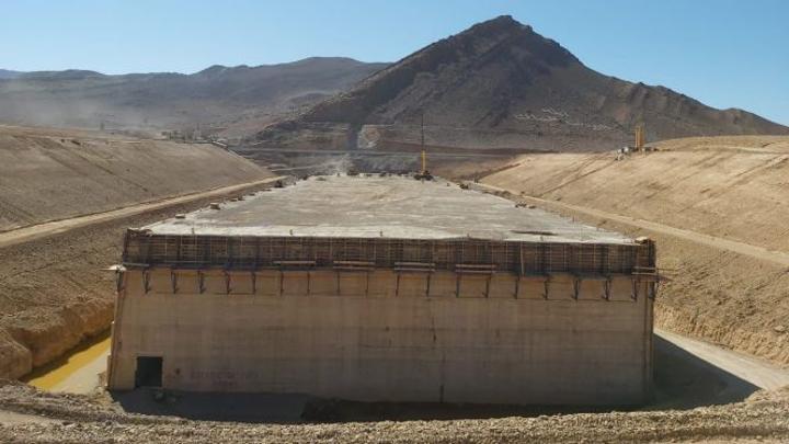 بالصور: هذه نسبة تقدم أشغال أكبر سد مائي بالمغرب