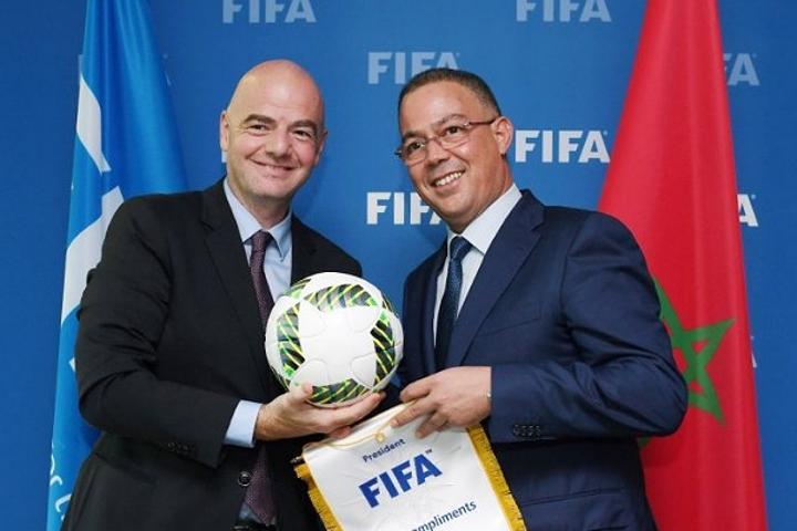 """في زيارة عمل رسمية.. رئيس """"فيفا"""" يحل الأربعاء المقبل بالمغرب"""